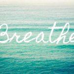 Rust in de hectiek, een ademhalingsoefening